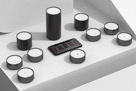 Cylindrical Stacking DJ Devices