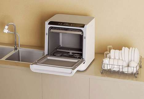 Voice-Controlled Countertop Dishwashers