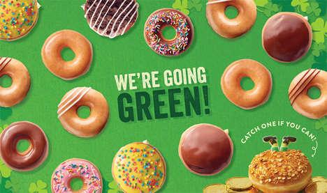Leprechaun-Themed Donuts
