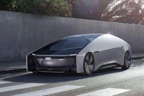 Spacious Autonomous Vehicle Designs