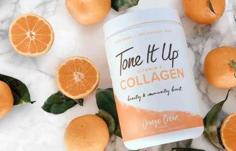 Vitamin C Collagen Powders