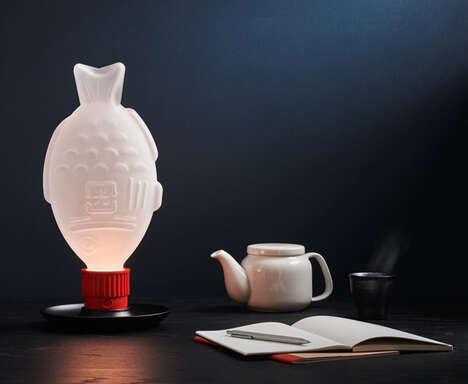 Plastic Waste Awareness Lamps