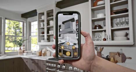 AR Kitchen Design Apps