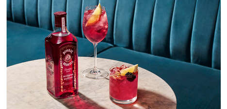 Berry-Flavored Gin Spirits
