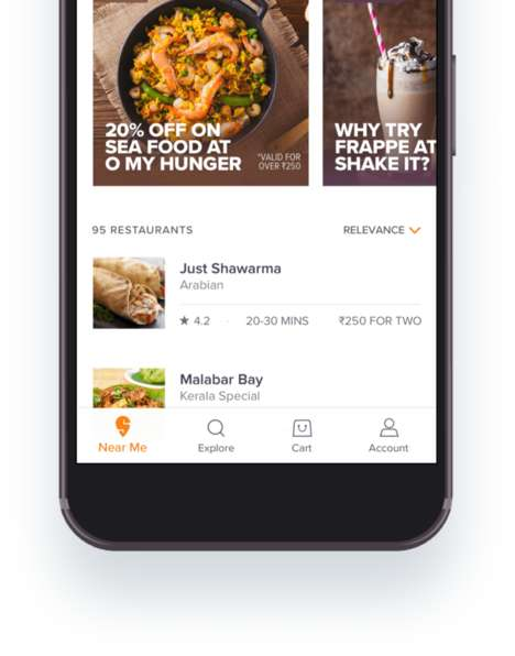 India-Based Food Delivery Platforms