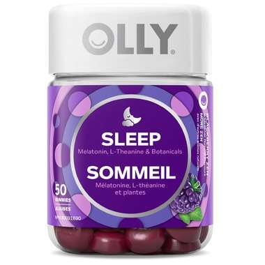Sleep Aid Blackberry Gummies
