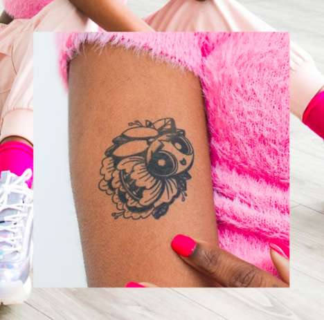 Female-Empowering Temporary Tattoos