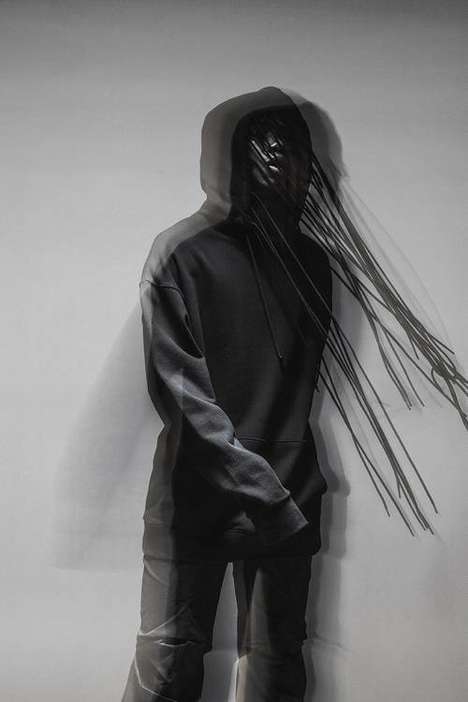 Experimental Hoodie Silhouettes