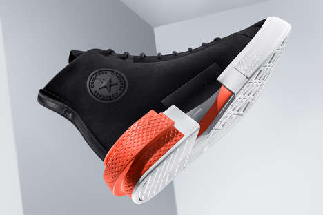 Futuristically Enhanced Sneaker Collections