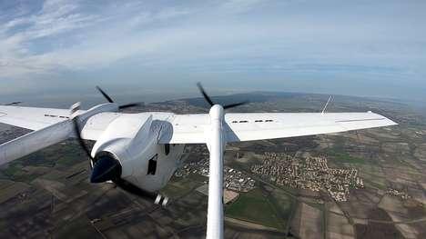 Hybrid Propeller Airplanes