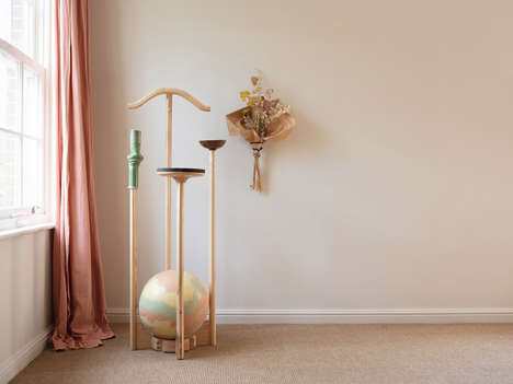 Sculptural Valet Stand Designs