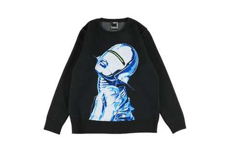 Luxe Graphic Knit Sweaters
