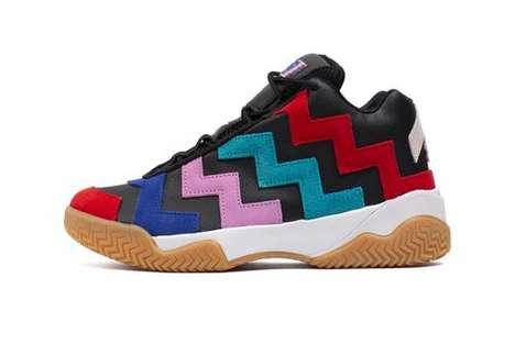 Zig-Zag Bold Tonal Sneakers