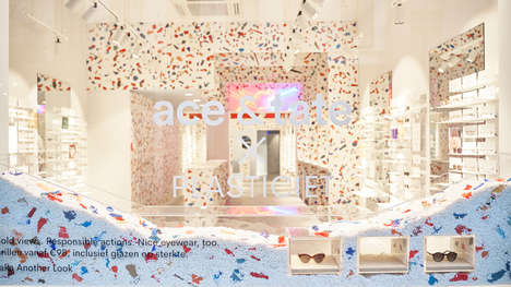 Colourfully Sustainable Retail Stores