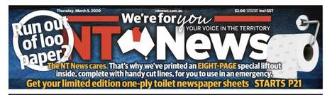Cheeky Toilet Paper Shortage Solutions