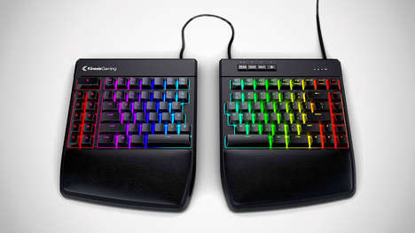 Ergonomic eSports Keyboards