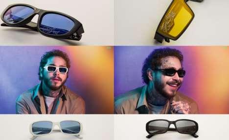 Chic Tattoo-Themed Sunglasses