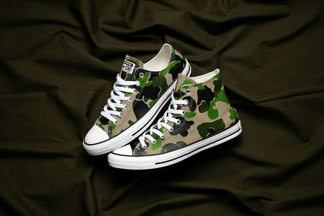 Bespoke Camo-Inspired Sneakers