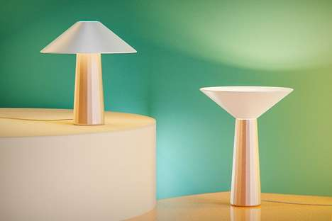 Flippable Shade Desk Lamps