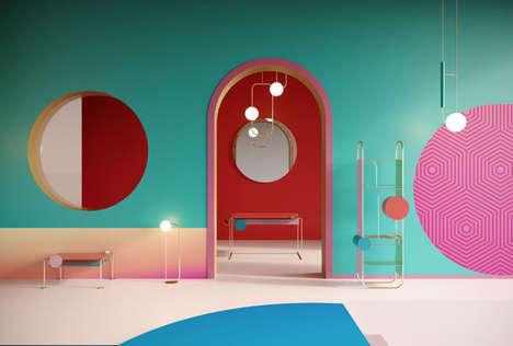 Surrealist Pop Art Furniture