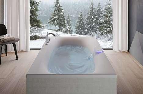 Luxe High-Tech Bathtubs