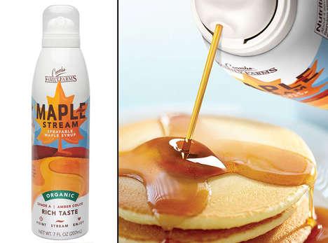 Sprayable Maple Syrups