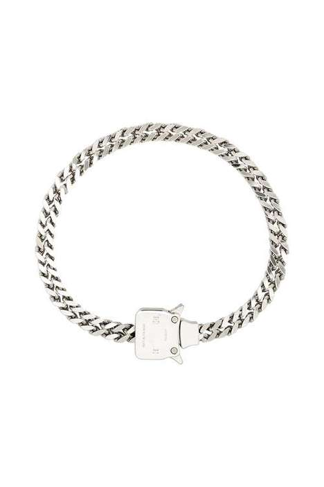 Silver Tonal Chain Necklaces