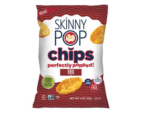 Popcorn-Made Snack Chips