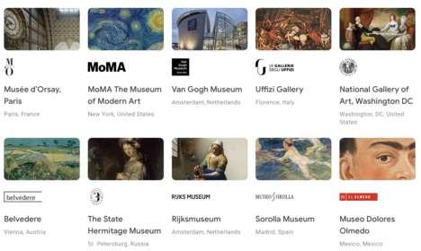 Virtual Museum Experiences