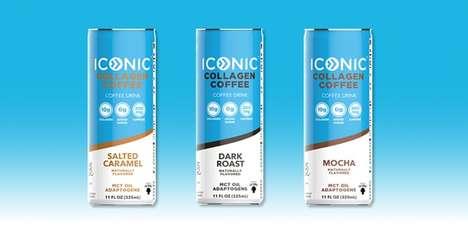 Collagen-Enhanced Coffee Beverages