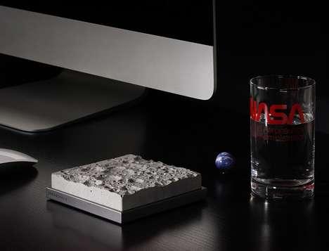 Lunar Surface Desk Accessories