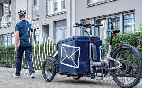 Autonomous Cargo Delivery Bikes