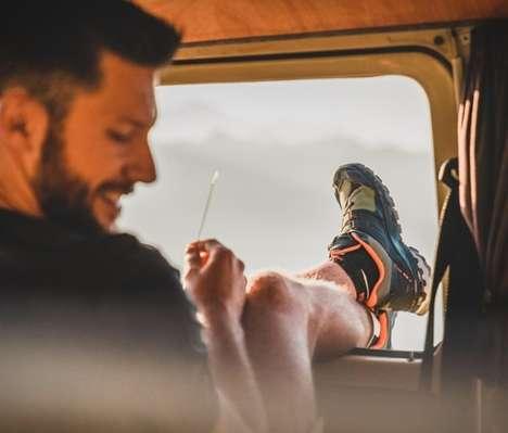 Sporty Wilderness-Ready Footwear