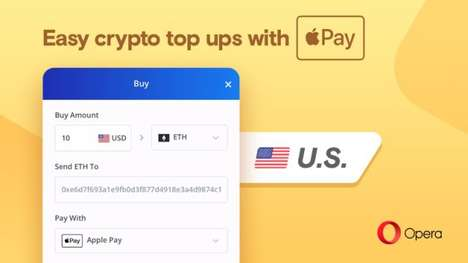 In-Browser Crypto Purchases