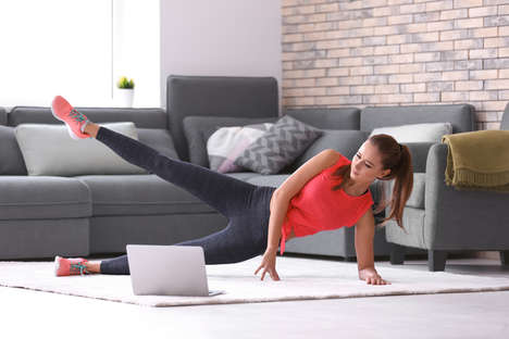 Inspirational At-Home Fitness Streaming