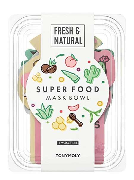 Food-Inspired Face Mask Packs