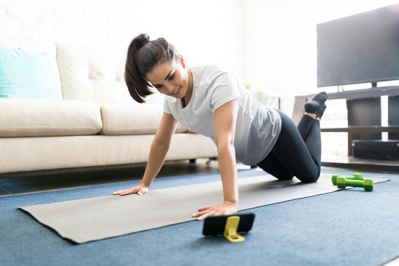 Motivational Streamed Fitness Classes