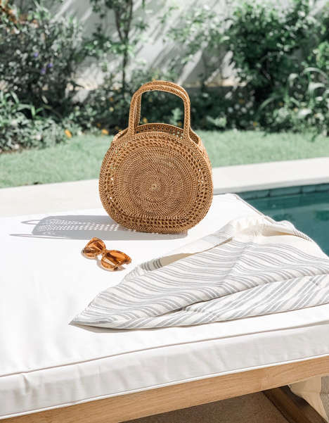 Luxurious Woven Reed Bags