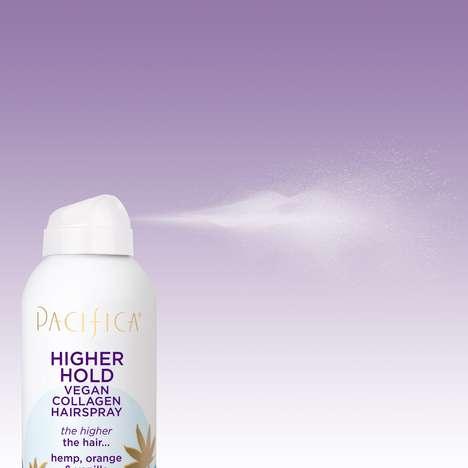 Collagen-Infused Hemp Hairsprays