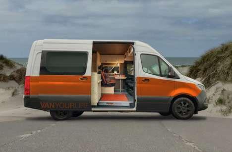 Multifunctional Camper Van Designs
