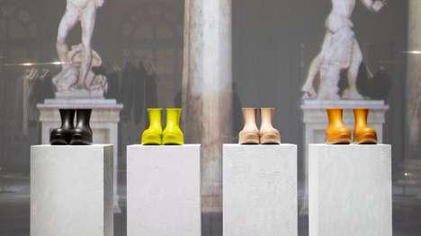 Monochromatic Biodegradable Boots