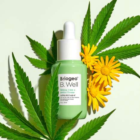 CBD-Enriched Scalp Oils