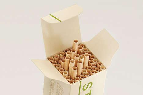 Eco Dried Stem Straws
