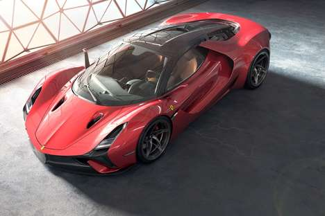 Fighter Jet-Like Supercars