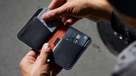 Magnetic Stitch-Free Wallets