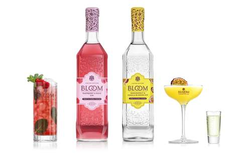 Aromatically Flavored Gin Spirits