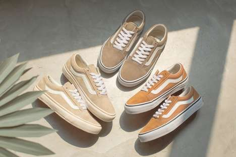 Milk Tea-Colored Sneakers