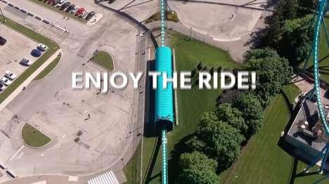 Virtual Roller Coaster Rides