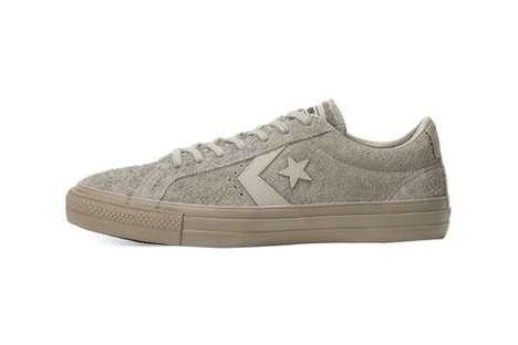 Ergonomic Suede Skate Sneakers