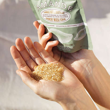 Nut-Based Body Exfoliators
